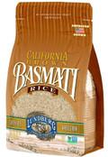 Lundberg Family Farms - California Brown Basmati Rice, Bulk Rice, 100% Whole Grain, High Fiber, Pantry Staple, Great for Cooking, Non-Sticky, Gluten-Free, Non-GMO, Vegan, Kosher (32 oz)