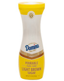 Domino Pourable Light Brown Sugar Flip Top Canister, 10 oz.