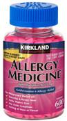 Kirkland Signature Allergy Medicine 25 mg., 600 Minitabs
