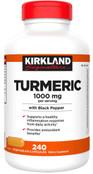 Kirkland Signature Turmeric 1000 mg., 240 Capsules