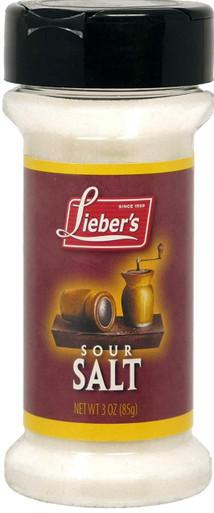 Lieber's Sour Salt, Citric Acid 3 Ounce