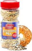 Lieber's Everything Bagel Seasoning, Everything Bagel Spice with Sesame Seeds, Dried Onion, Garlic, Salt, Kosher Bagel Seasoning, 8.5oz