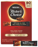 Nescafe Taster's Choice Instant House Blend Coffee Packets, Light Roast, 1.7 g Singles 80 Count