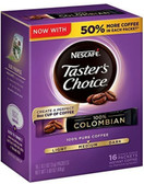 Nescafe Taster's Choice Instant Coffee Colombian 16 count