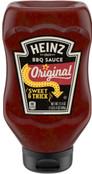 Heinz Original Sweet & Thick BBQ Sauce, 21.4 oz Bottle