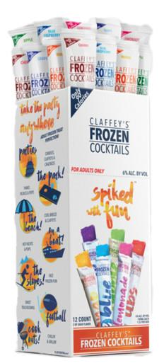 Claffeys Freeezer Pop Cocktails Variety Pack, 2oz 12 Count