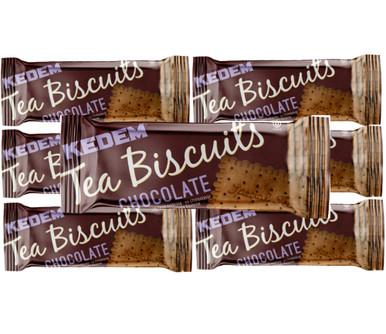 Kedem Vanilla Chocolate Flavor Tea Biscuits, 4.2oz (Pack of 6)
