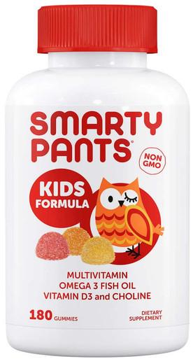 Smarty Pants Kids Formula Multivitamin, 180 Gummies