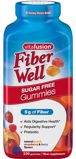 vitafusion Fiber Well Sugar Free, 220 Gummies