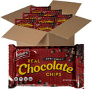 Lieber's Vegan Semi Sweet Real Chocolate Chips, Gluten Free, Dairy Free, Kosher Parve, Low Calorie Chocolate Chips for Baking, 9 oz (Pack of 6)