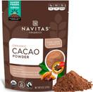 Navitas Organics Cacao Powder, Organic, Non GMO, Gluten Free, 8 oz.