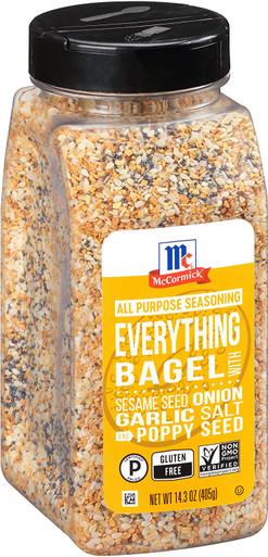 McCormick Everything Bagel All Purpose Seasoning, 14.3 oz