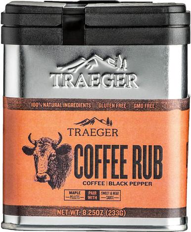 Traeger Grills SPC172 Seasoning and BBQ Coffee Rub, 8.25 oz