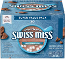 Swiss Miss Marshmallow Hot Cocoa Mix, 1.38 Ounce Envelopes, 30 Count