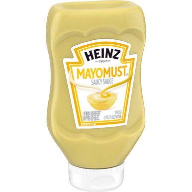 Heinz Mayomust Mayonnaise & Mustard Sauce, 19 oz