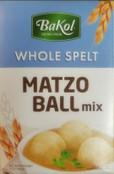 Bakol Whole Spelt Matzo Ball Mix, 5 oz