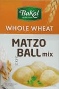 Bakol Whole Wheat Matzo Ball Mix, 5 oz