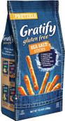 Gratify Gluten Free Pretzels Sea Salt Sticks, 10.5 oz