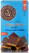 For Snackers Only Peanut Butter Snack Bites Topped with Chocolate Coating, 10 Count