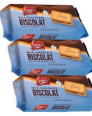 Lieber's Milk Chocolate Biscolat, 6.35 oz (Pack of 3)
