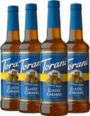 Torani Sugar Free Syrup, Classic Caramel, 25.4 Oz, (Pack of 4)