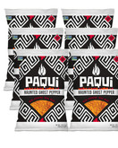 Paqui Haunted Ghost Pepper Spicy Tortilla Chips, 2oz Bags (Pack of 6)