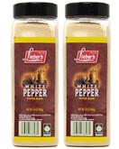 Lieber's White Pepper, 14 oz (Pack of 2)
