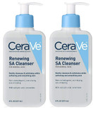 CeraVe Renewing SA Cleanser, 8 oz (Pack of 2)