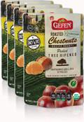 Gefen Organic Roasted Chestnuts, 5.2 oz (Pack of 4)