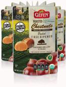 Gefen Organic Roasted Chestnuts, 5.2 oz (Pack of 12)