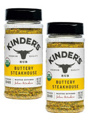 Kinder's Organic Buttery Steakhouse Rub, 10.4 oz (Pack of 2)