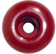 Blank Wheel - 50mm Dark Red (Set of 4)