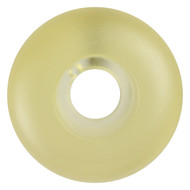 Blank Wheel - 50mm Clear Gel Yellow Tint (Set of 4)