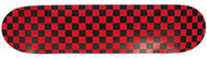 Moose Deck Checkered Red/Black 7.5""