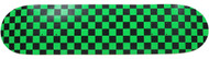 Moose - Checkered Green/Black Deck 7.5""