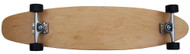 Moose -Kick Tail Longboard - Natural Complete