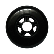 100mm 88a Scooter Wheel Black/Black 5 Spoke Hub