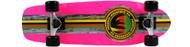 Paradise Cruiser - Barking Rasta - 8 x 26.5 Neon Pink Deck - Pink Grip