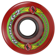 Kryptonics Wheel Route Red 62mm