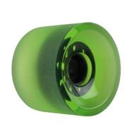 Longboard Wheel - 70mm 82a Shaved Green