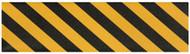 "Pimp Griptape Yellow/Black Stripe 9"" x 33"""