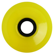 70mm Smooth Transparent Yellow USA Wheel 78A