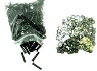 """S-Type Hardware 1000pcs Phillips 1"""" - All Black Bolts and Nuts"""