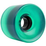 65mm x 51.5mm 83A Wheel 341C Green Clear