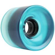 62mm x 51.5mm 83A Wheel 2995C Blue Clear Black