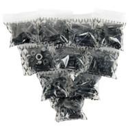 """Dimebag Hardware - 10 Sets 7/8"""" Black"""