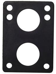 """H-Block Riser Pad (Individual) - 1/4"""" Black"""