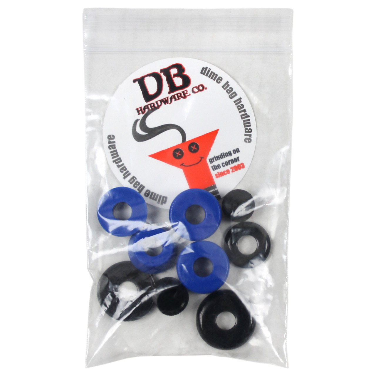 Dimebag Hardware Bushing Kit Blue 88A - Keystone Skate Supply