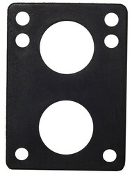 "H-Block Riser Pads (100Pcs)- 1/4"" Black"