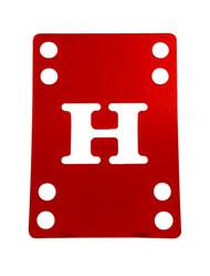 H-Block Riser Pad (Individual) - 4mm Red